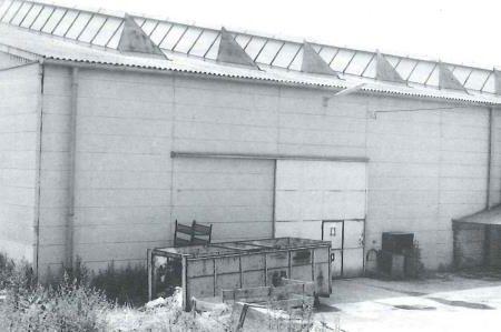 Halle der Firma Werner Pfleiderer