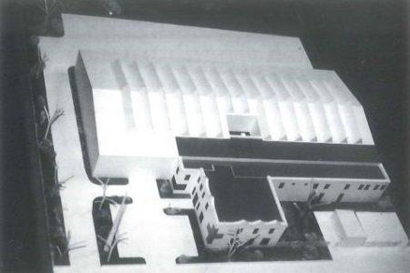 Modell der jetztigen Dienststelle