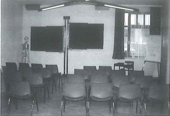 Schulungsraum damals
